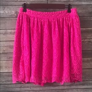 Hot Pink Soprano Skirt sz L